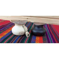 Vaisselle en bois de pays